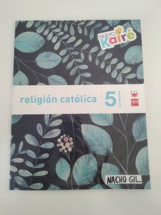 libro de religión 5° de primaria