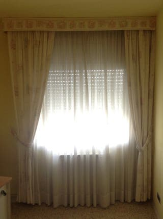 Doble cortina Habitacion Bebé/Infantil