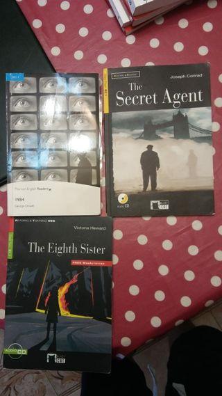 Libros nivel B1 y B2 en inglés