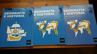 Geografía e historia 3 eso inicia dual oxford
