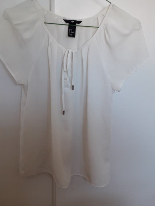 Camisa HyM Blanca talla S