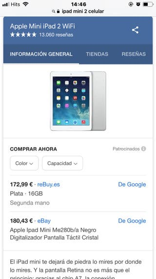 iPad mini 2 Celular
