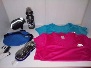 Lote deportivo para Bici, running, natación
