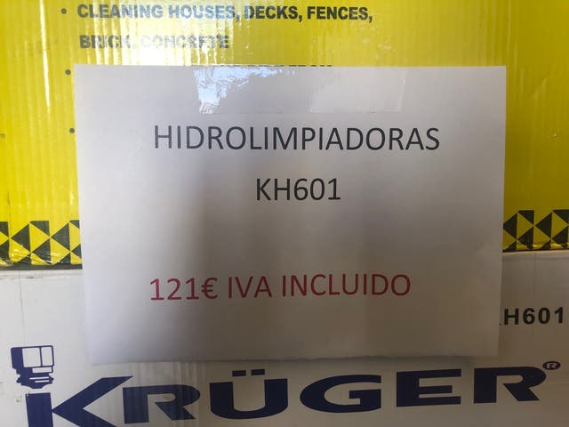 Hidrolimpiadoras KH601