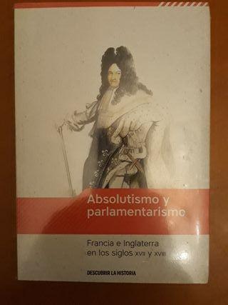 'Absolutismo y parlamentarismo'