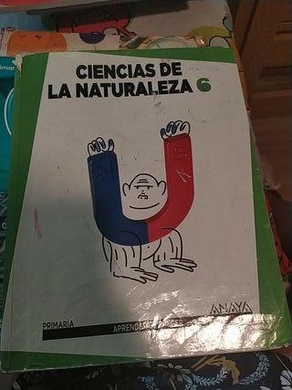 libro ciencias naturales 6