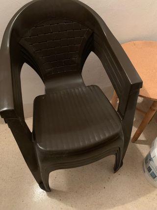 sillas plastico