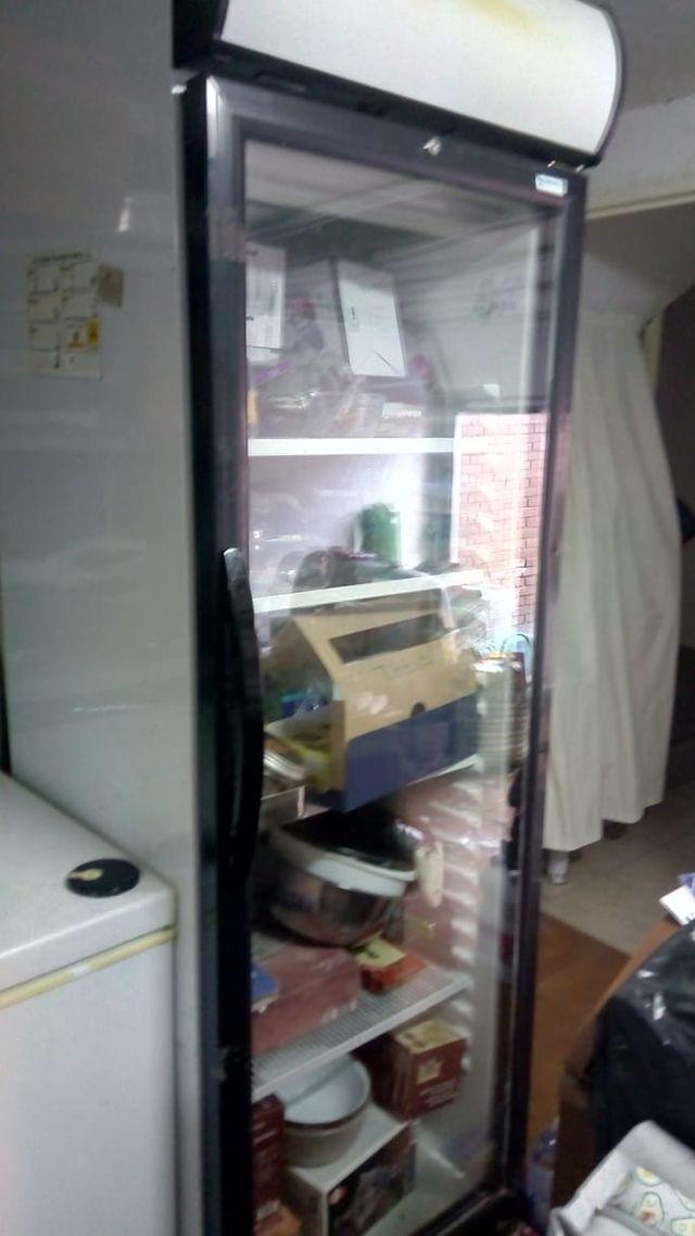 Nevera refrigerador.Armario Expositor Refrigerador
