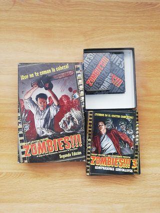 Juego de mesa Zombies!!! + Expansiones