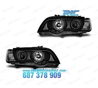FAROS DELANTEROS XENON BMW X5 E53 99-03 OJOS DE AN