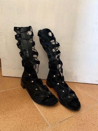 Sandalias lazadas talla 39