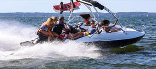 Barco Moto de Agua Sealver 525 Wake Boat Sea Doo