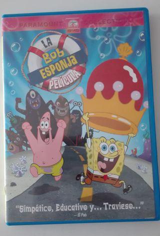 DVD Bob esponja la pelicula