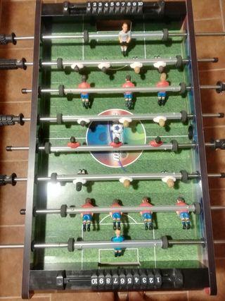 Futbolín de la selección española.