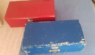 Baul caja vintage 2 unidades