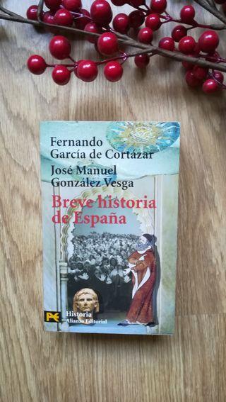 Breve historia de España. Fernando Gª de Cortázar