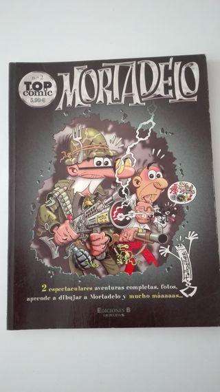 Coleccion Top Comics Mortadelo numero 1