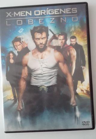 DVD Xmen Origenes Lobezno