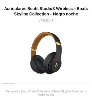 Auriculares bluetooth Beats Studio3