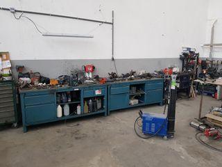 bancos de trabajo para taller