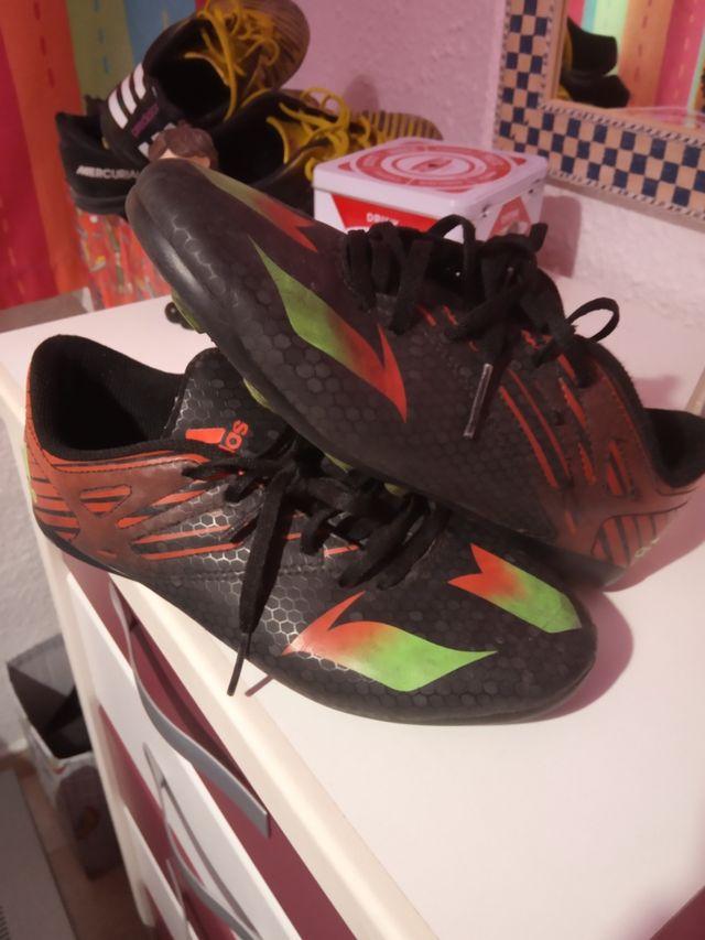 botas fútbol Adidas Mesi n36