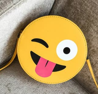 Bolso emoticono bola de deporte maleta mochila