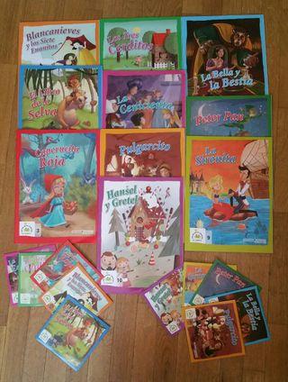 Cuentos Infantiles + CDs Audio