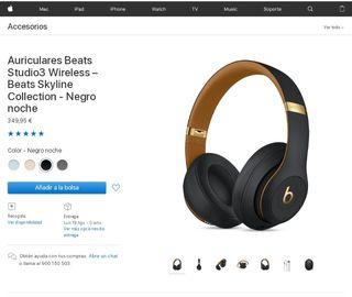 Auriculares Beats Studio3 nuevos