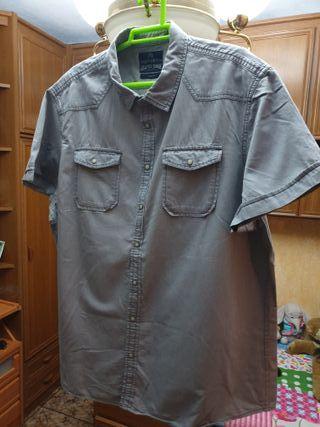 Camisa sport hombre 3XL Angelo Litrico