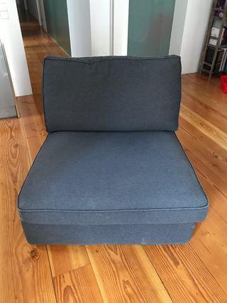 Módulo sofá KIVIK ikea gris antracite