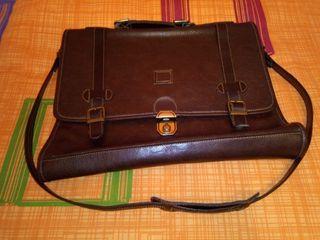 maletin portadocumentos en piel