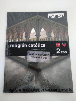 libro de religión de 2° de la Eso