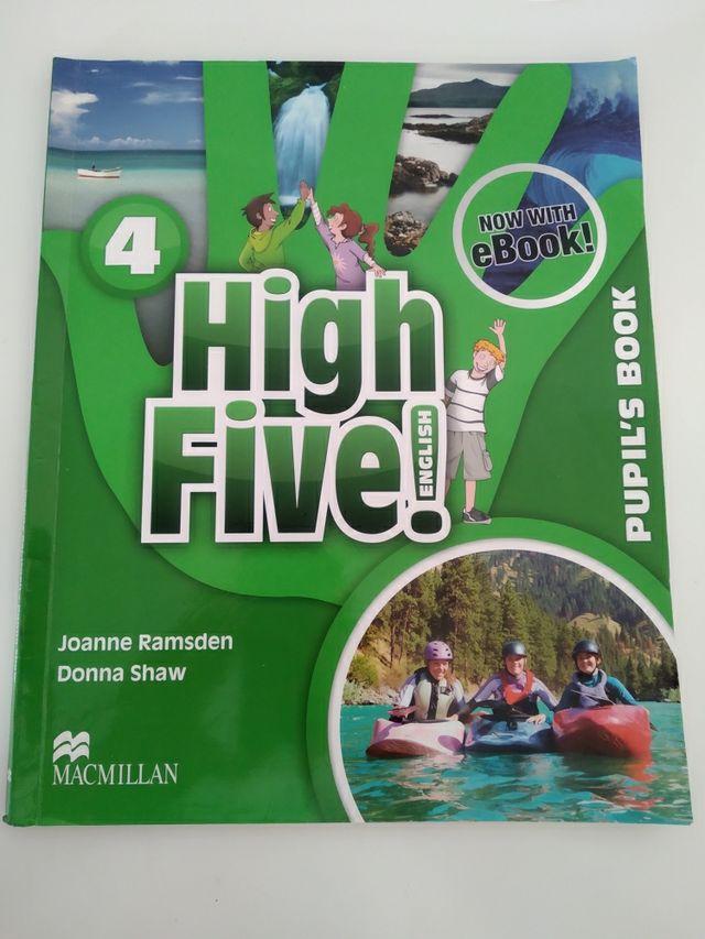 libro de inglés de 4° de primaria