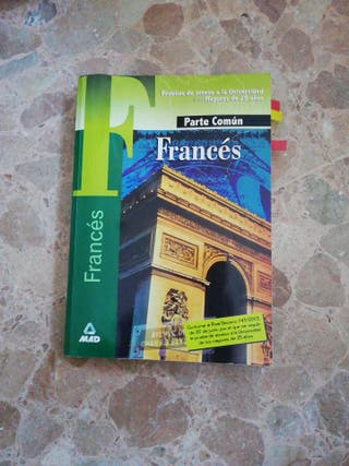 Libro FRANCÉS MAD PAU Mayores 25 años