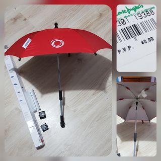 Nuevo, parasol de bugaboo rojo