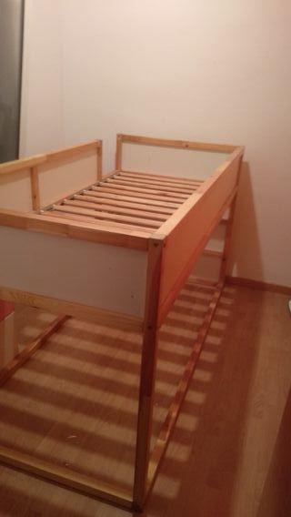 cama Ikea niños kura