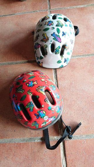casco de bicicleta de niños