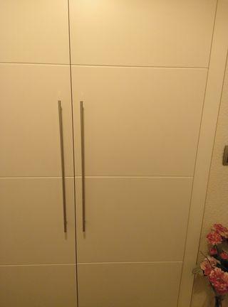 Tiradores puertas armarios inox nuevas