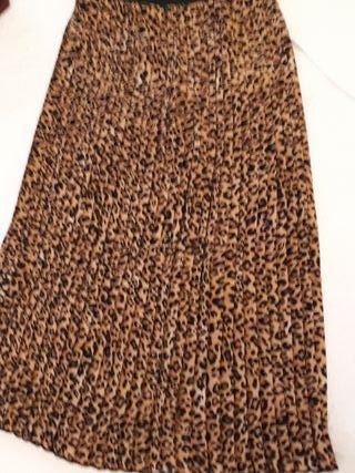 falda plisada de Bershka