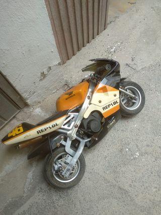 mini moto repsol