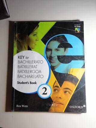 Libro Inglés 2° Bachillerato