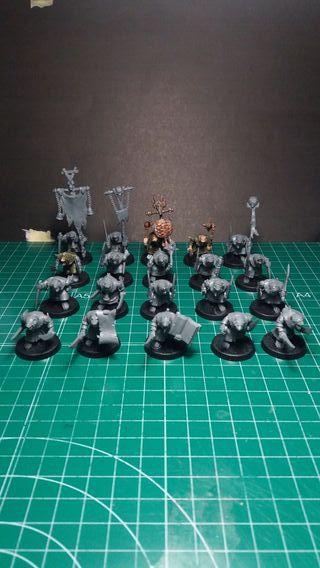 Regimiento Skaven Plague Monks