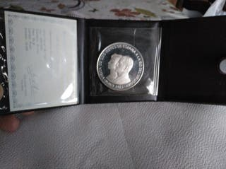 moneda Plata 1983 N$ 2000