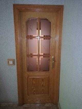 Puertas madera maciza, tengo 6 más