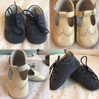 Pack Zapatos bebé suela blanda