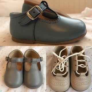 Pack zapato piel bebe