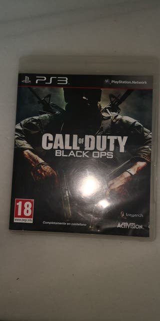juego play station 3 black ops