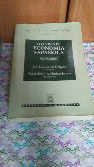 Libro Lecciones de economia Española