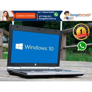 Portátil HP EliteBook 2560P I5, SSD, Windows 10 Gr