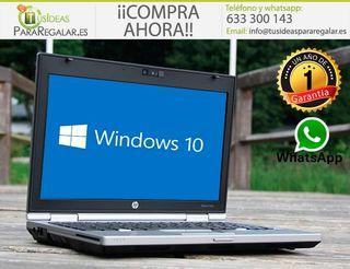 Portátil HP EliteBook 2560P, SSD, I7, Cam, Window